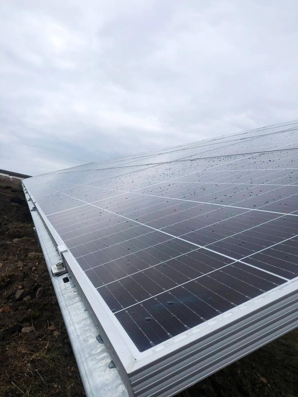 Солнечные электростанции Украина